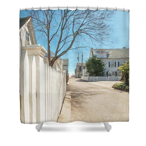 Gosnold St. Provincetown Shower Curtain