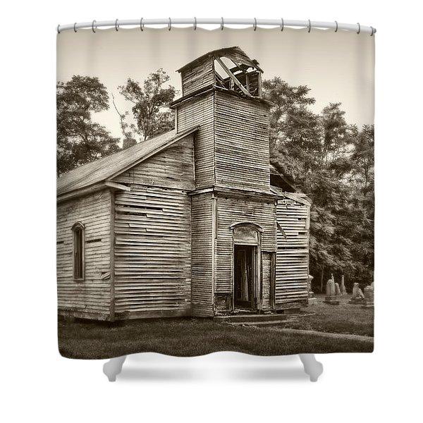 Gospel Center Church Iv Shower Curtain