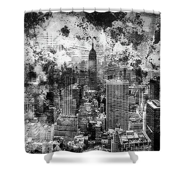 Gotham Castles Shower Curtain