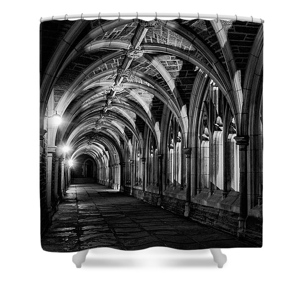 Gothic Arches Shower Curtain
