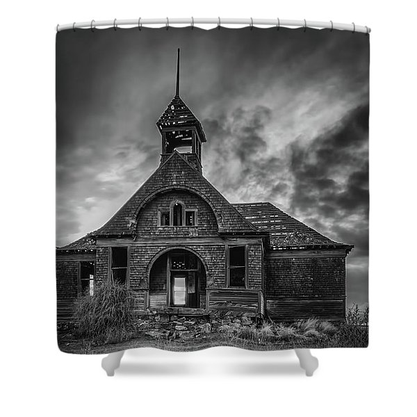 Goven School House Shower Curtain