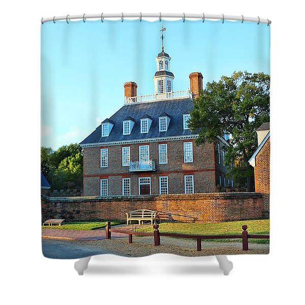 Governors Palace Colonial Williamsburg  4808 Shower Curtain