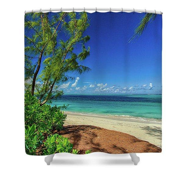 Grace Bay Shower Curtain