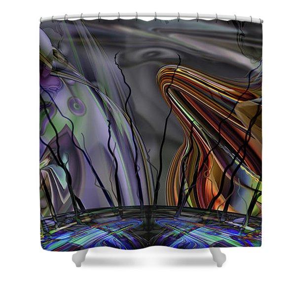 Grade Point Shower Curtain