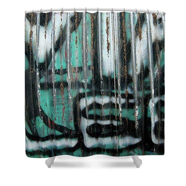 Graffiti Abstract 2 Shower Curtain