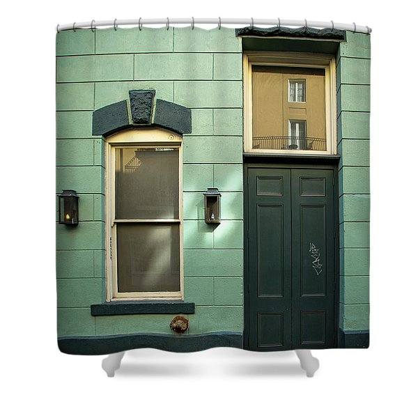 Graffiti Door Shower Curtain