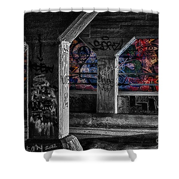 Graffiti Galore 2 Shower Curtain