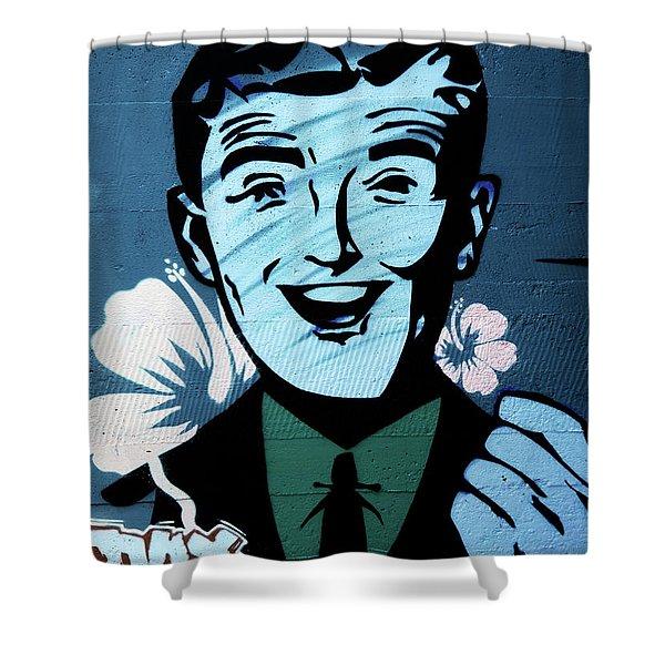 Graffiti_06 Shower Curtain