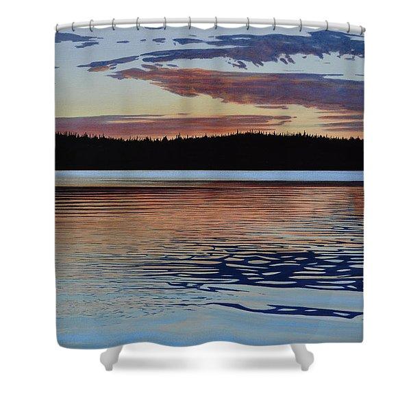 Graham Lake Shower Curtain