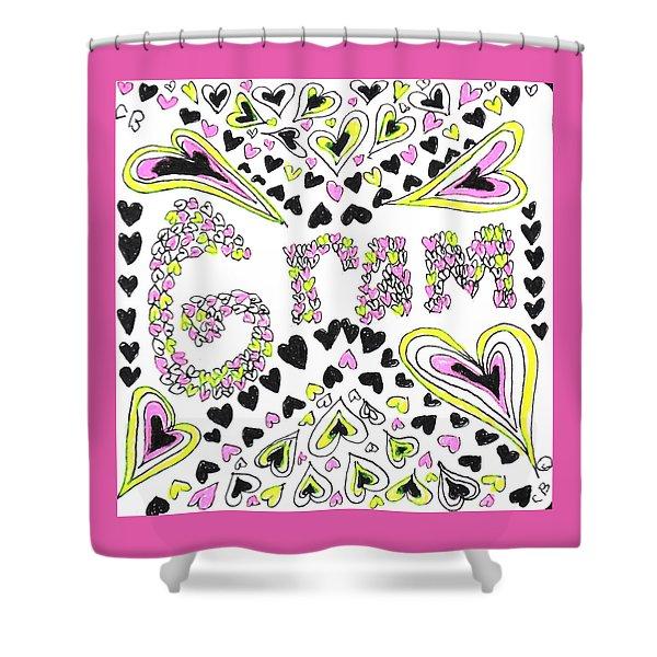 Gram Shower Curtain