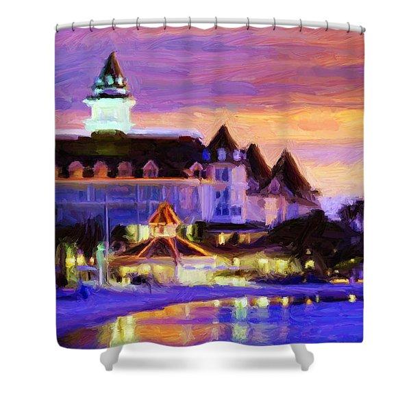 Grand Floridian Shower Curtain