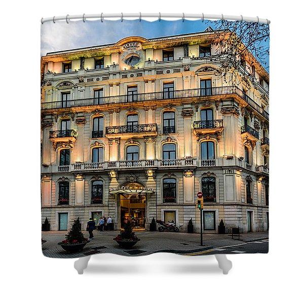Gran Hotel Havana Shower Curtain