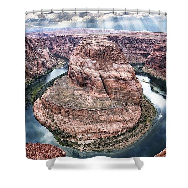 Grand Canyon Horseshoe Bend Shower Curtain