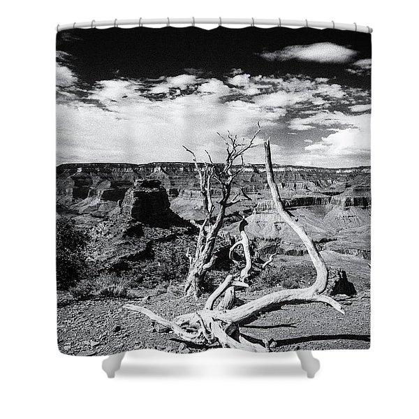 Grand Canyon Landscape Shower Curtain