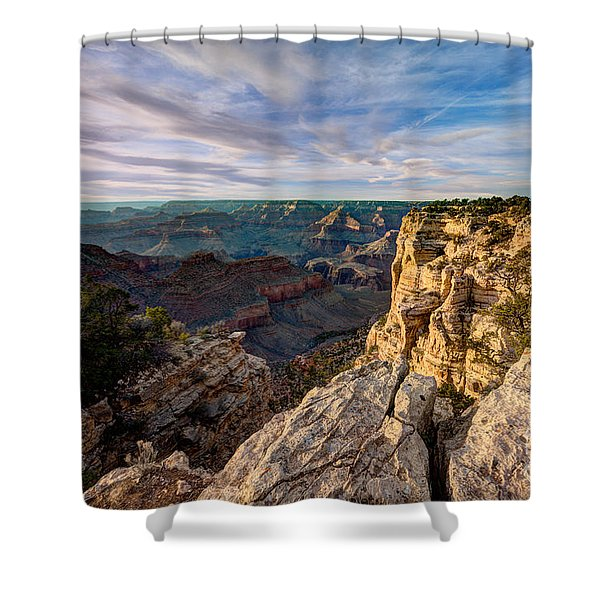 Grand Canyon National Park Spring Sunset Shower Curtain