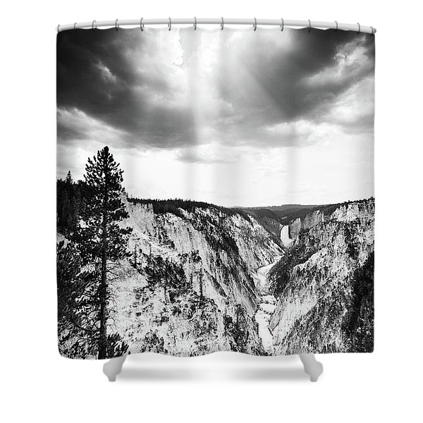 Grand Canyon Of The Yellowstone Shower Curtain