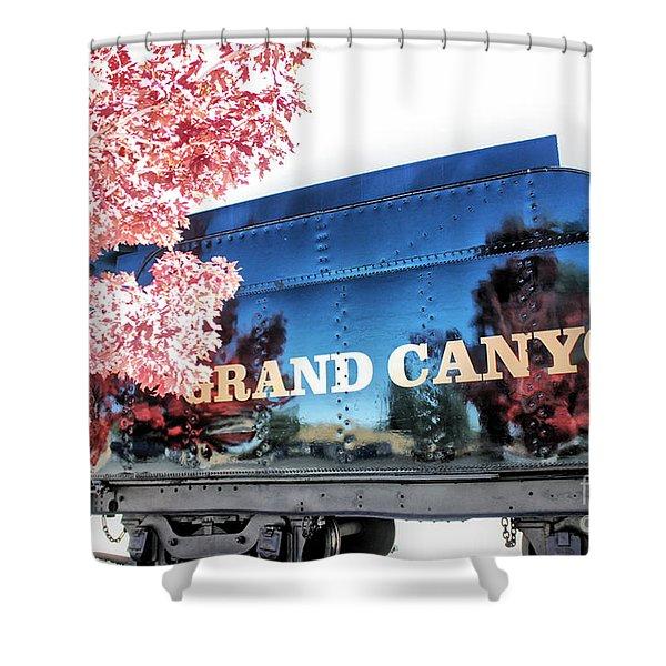 Grand Canyon Railroad Shower Curtain