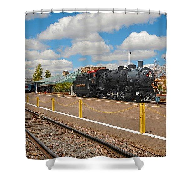 Grand Canyon Railway Shower Curtain