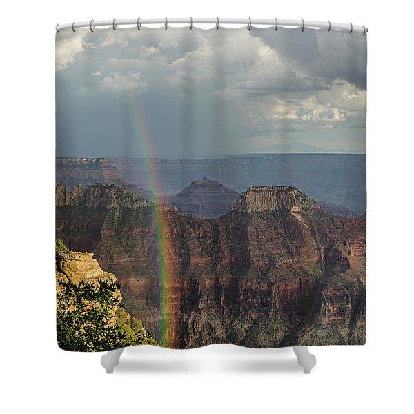Grand Canyon Rainbow Shower Curtain