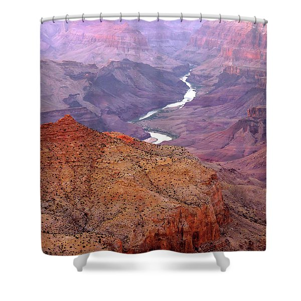 Grand Canyon River View Shower Curtain