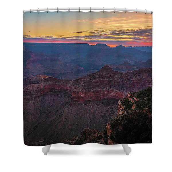 Grand Canyon Sunrise Shower Curtain