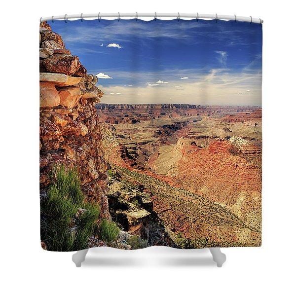 Grand Canyon Wall Shower Curtain