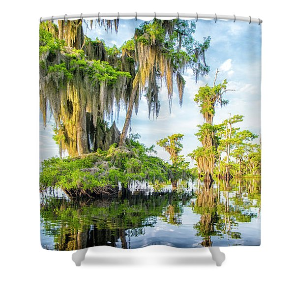Grand Cypress Shower Curtain