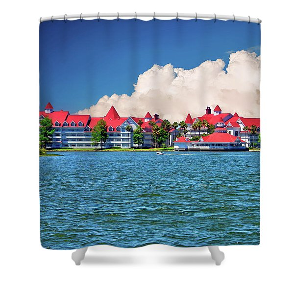 Grand Floridian Resort And Spa Shower Curtain