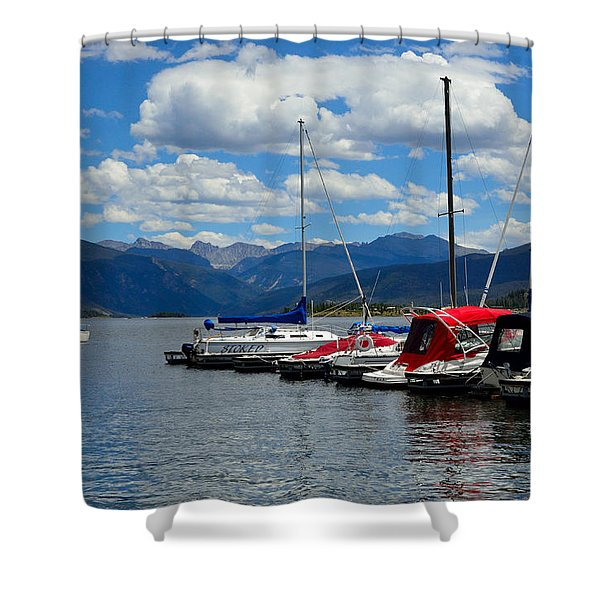 Grand Lake And Indian Peaks Wilderness Shower Curtain