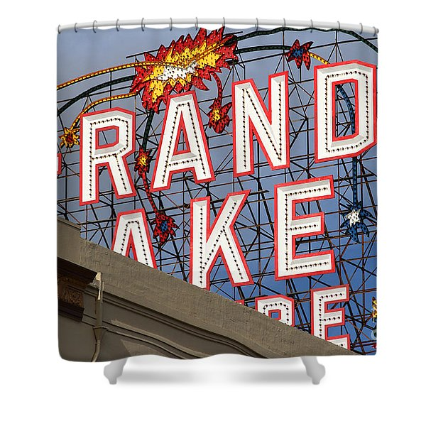 Grand Lake Theatre . Oakland California . 7d13495 Shower Curtain