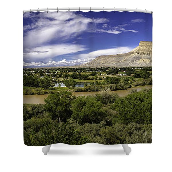 Grand Valley Panoramic Shower Curtain
