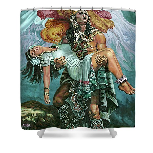 Grandeza Azteca Shower Curtain
