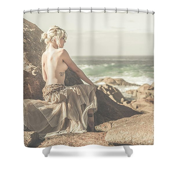 Granville Harbour Tasmania Fine Art Beauty Portrait Shower Curtain
