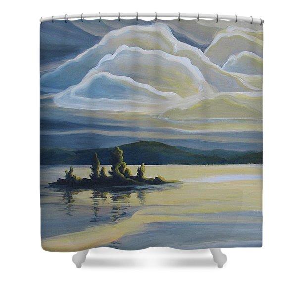 Grape Island Shower Curtain