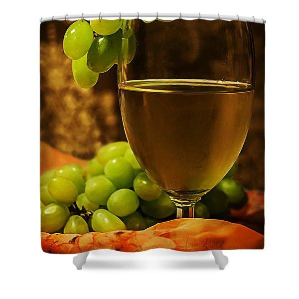 Grape Juice Shower Curtain