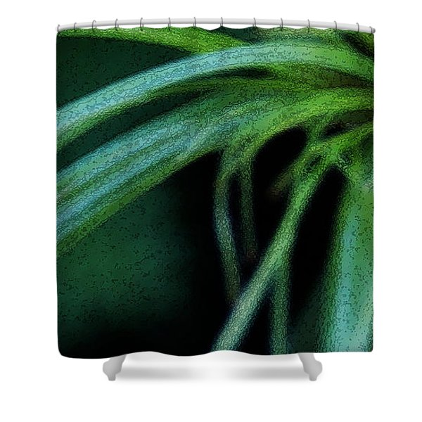 Grass Dance Shower Curtain