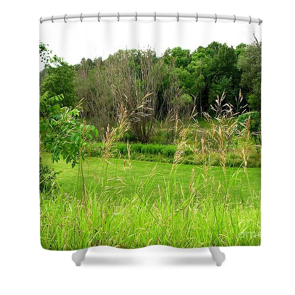 Swaying Grass Shower Curtain