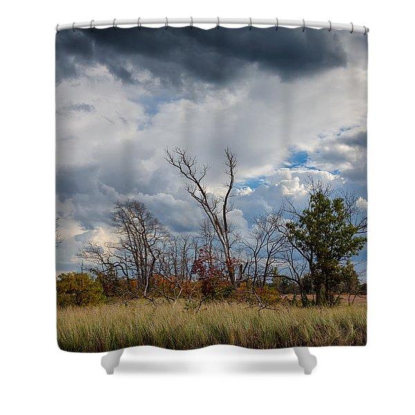 Grasslands At Indiana Dunes Shower Curtain