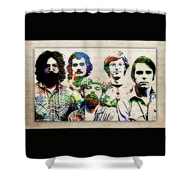 Grateful Dead Shower Curtain