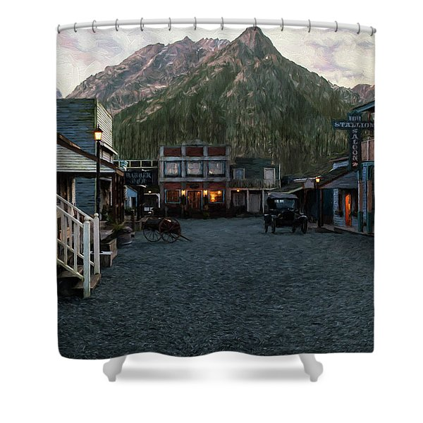 Grateful Heart - Hope Valley Art Shower Curtain