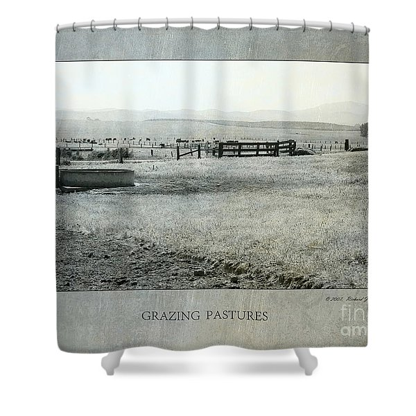Grazing Pastures Shower Curtain