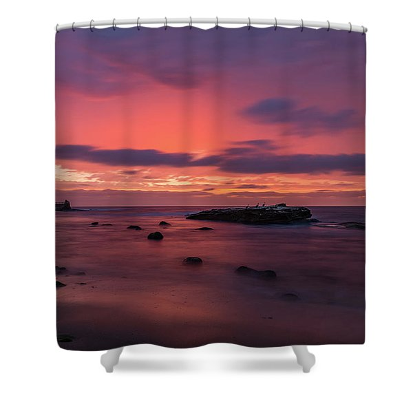 Great Beyond Shower Curtain