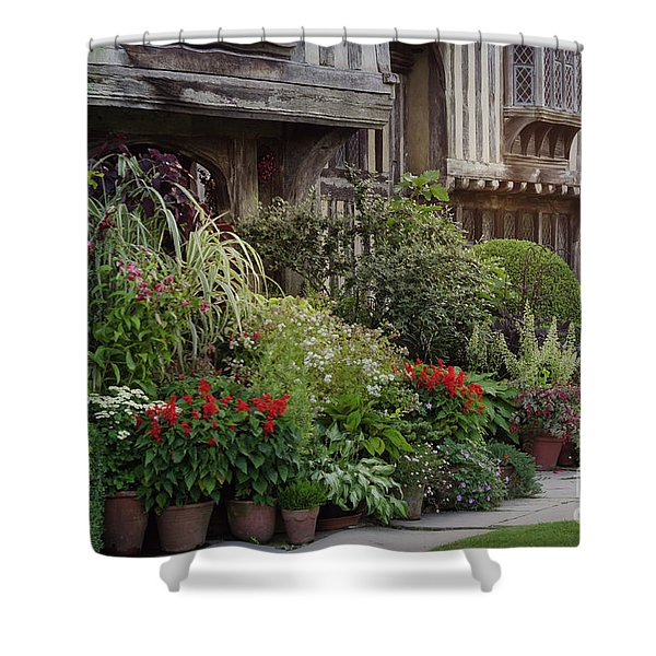 Great Dixter House And Gardens At Sunset 2 Shower Curtain