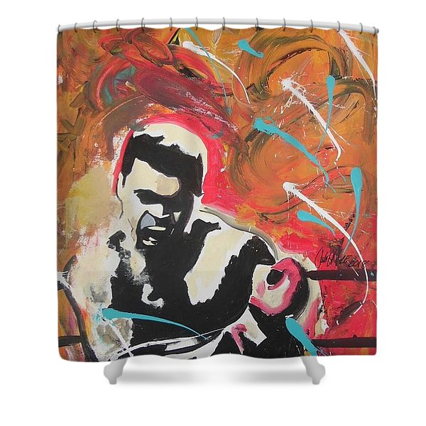 Great Gloves Of Fire Shower Curtain