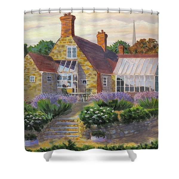 Great Houghton Cottage Shower Curtain
