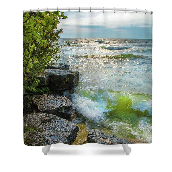 Great Lakes Shower Curtain