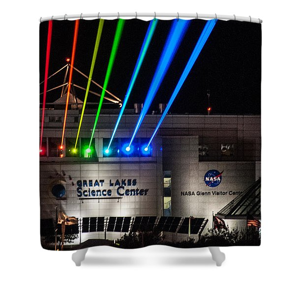 Great Lakes Science Center Shower Curtain