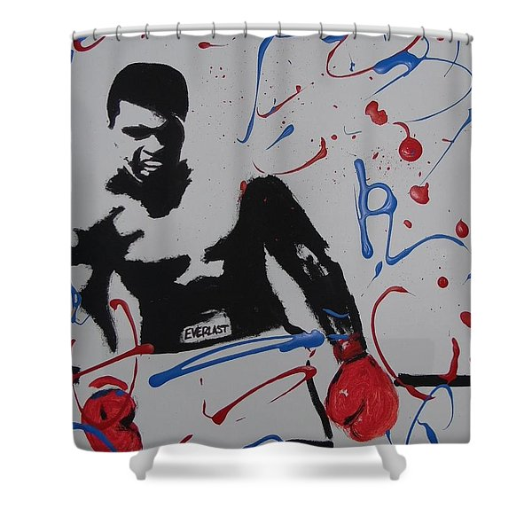 Great Ones Live On Shower Curtain