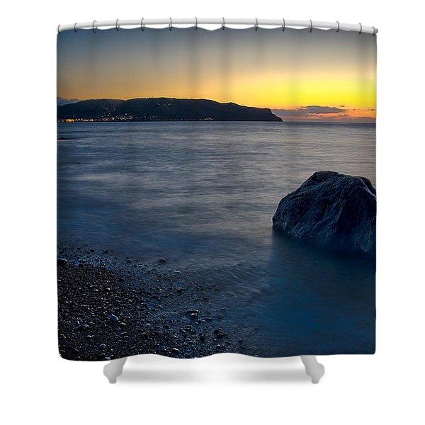 Great Orme, Llandudno Shower Curtain