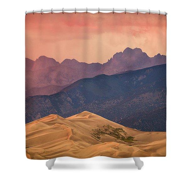 Great Sand Dunes Colorado Shower Curtain